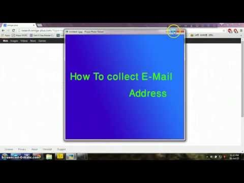 Collect  valid email address simply.