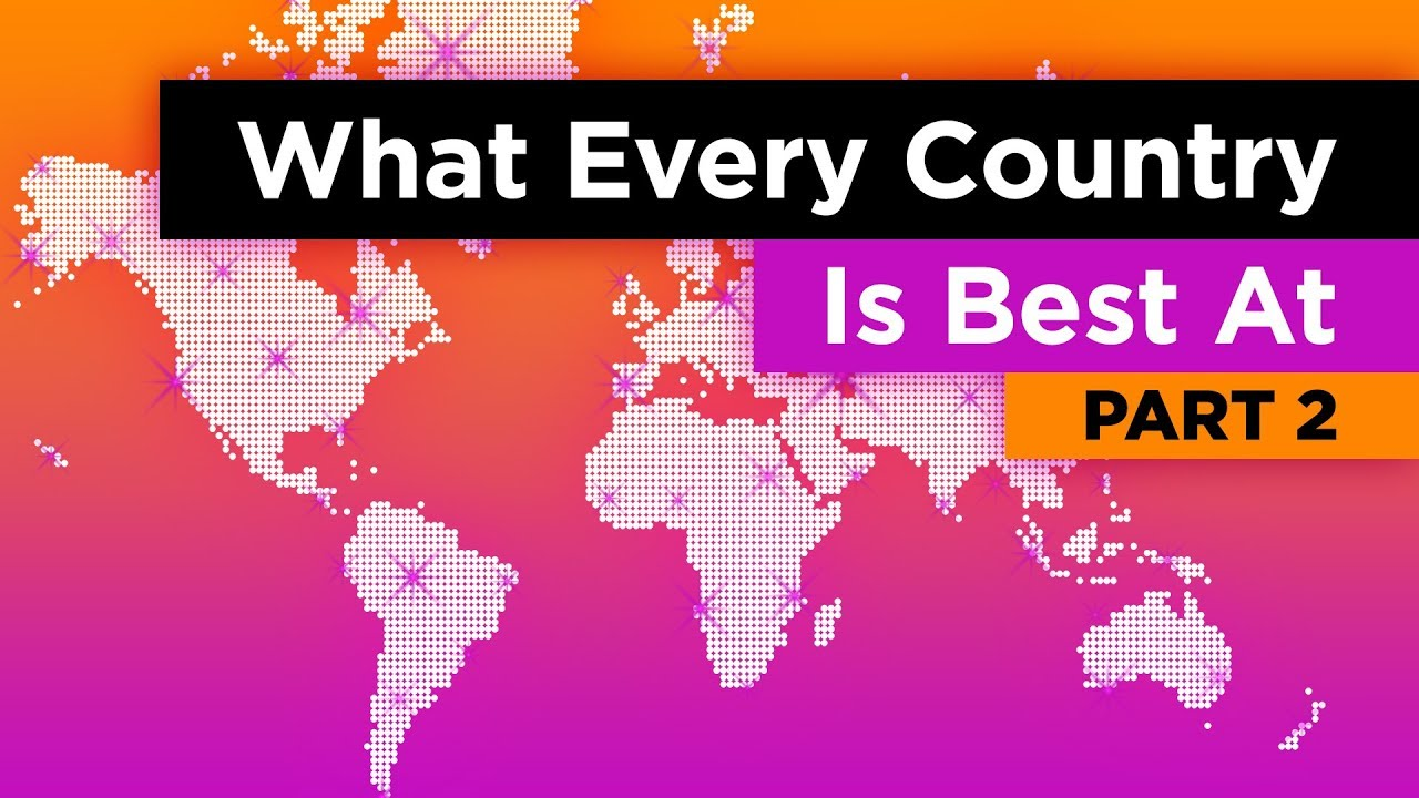 What Every Country in the World is Best At (Part 2)