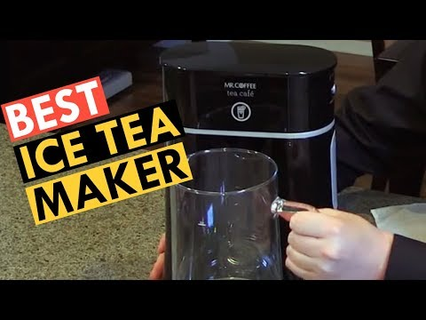 Flash Chill Iced Tea Maker | Iced Tea Maker For Loose Or Bagged Tea | Best Ice Tea Maker Review