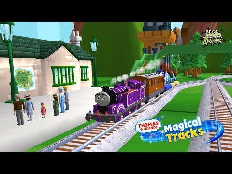 TRANSPORT passengers & cargo w/ RYAN!   Thomas & Friends: Magical Tracks - Kids Train Set By Budge