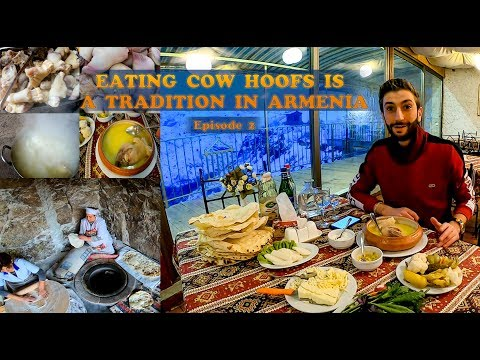 Khash: Eating cow hoofs is a tradition in Armenia : Episode  2