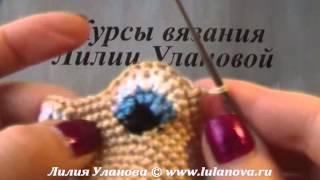 Змея Черная - Змея Очаровашка - вязание крючком