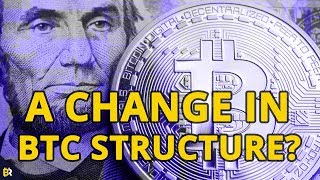 Has #Bitcoin Seen a Change in Market Structure? Technical Analysis (9-24-18)