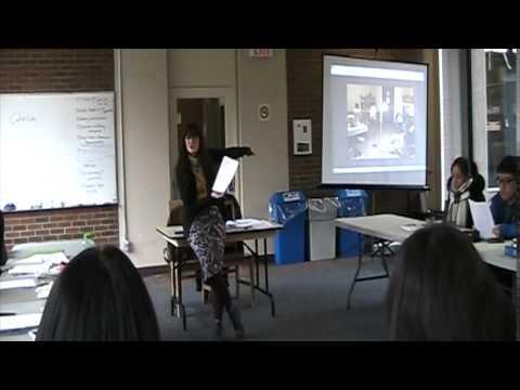 Academic ESL Lesson - Creative Writing