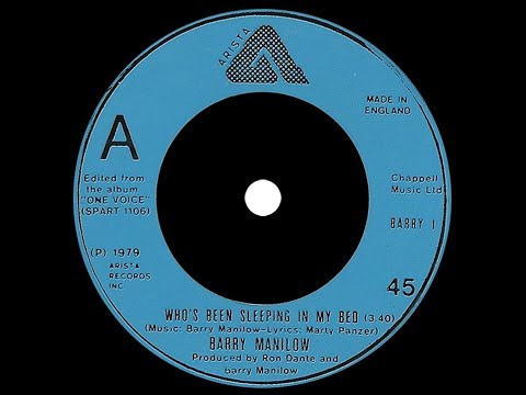 Barry Manilow ~ Who's Been Sleeping In My Bed 1979 Disco Purrfection Version