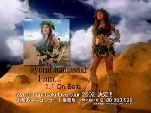ayumi hamasaki - I Am... cm