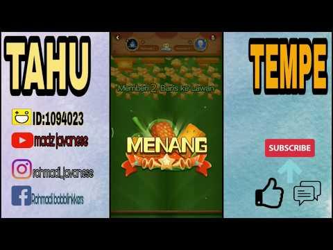 HAGO INDONESIA #2 TIPS & TRIK MENANG TERUS MAEN TAHU TEMPE  100% DI JAMIN!!! game seru 2018.