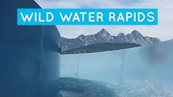 Olympia Bad Seefeld - Wildwasserfluss || Alpine White Water Canyon!