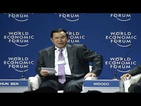 Hun Sen Prime Minister in Jakarta and Bandung, Indonesia.22 to 24 April 2015 TVK
