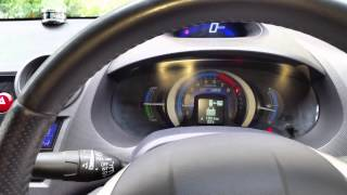 Honda Insight как убрать ошибку-предупреждение