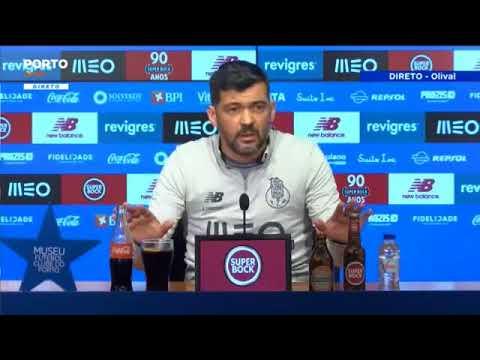 «Abel não me conhece? Fui eu que o fui buscar para o Braga» - Sérgio Conceição