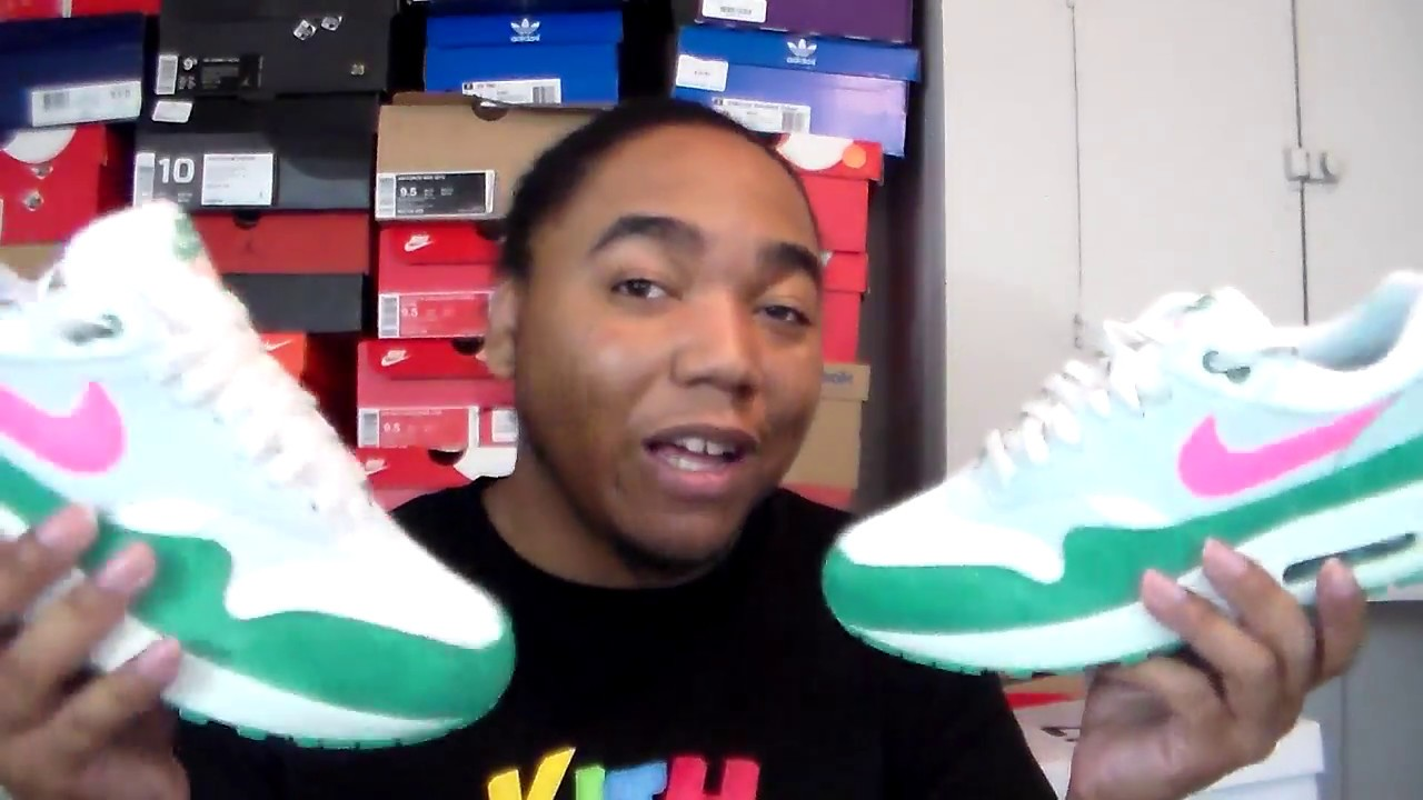 😴😴😴 99 SWOOP  NIKE AIR MAX 1 WATERMELON RESELL IS  300+    - YouTube eb7265b5c