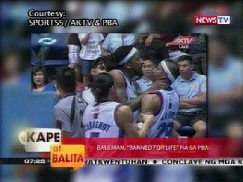 KB: PBA import na si Renaldo Balkman, nagwala at nanakal ng team mate matapos mapikon