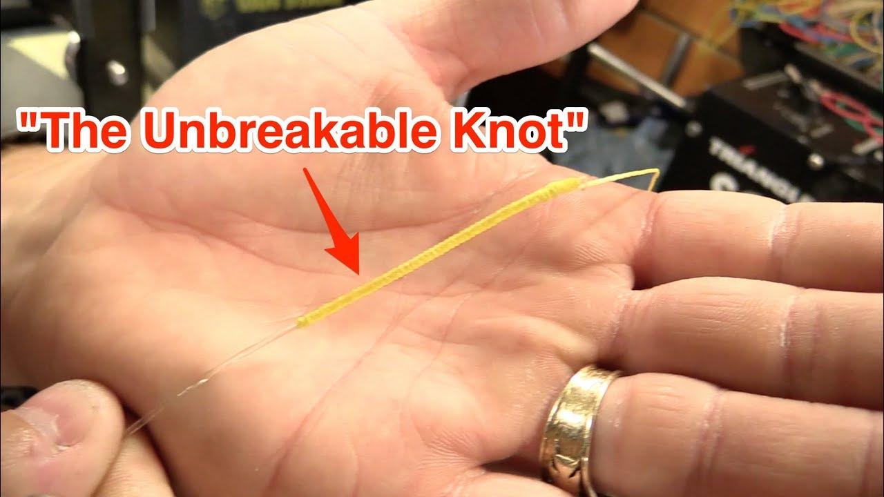 PR BOBBIN KNOT: THE UNBREAKABLE FISHING KNOT (100% Knot)