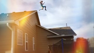 INSANE ROOF JUMPING!