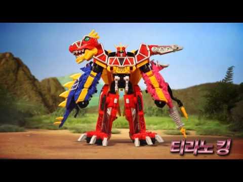 Do Choi Robot Khung Long | đồ Chơi Trẻ Em | 5 Anh Em Siêu Nhân