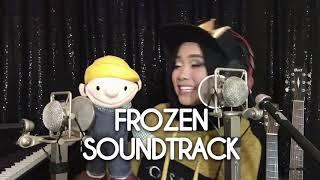 Ayu Putrisundari Indonesian Idol ft. Boneka Pinot - Do You Want To Build a Snowman