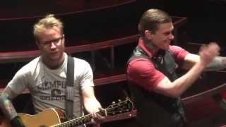 """Rock Acoustic Medley & Simple Man"" Shinedown@House of Blues Atlantic City 5/4/13 Amaryllis Tour"