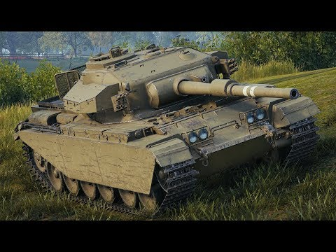 World of Tanks Centurion Mk. 7/1 - 5 Kills 9,3K Damage thumbnail