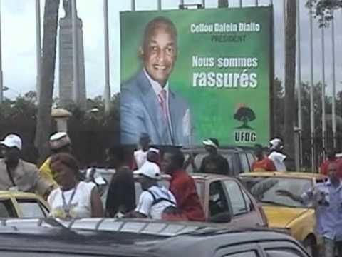 Violence Precedes Guinea's Presidential Elections