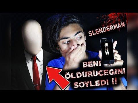 SLENDER MAN'I ARADIM !!! (AÇTI , ÖLÜCEKSİN DEDİ😨) !!!