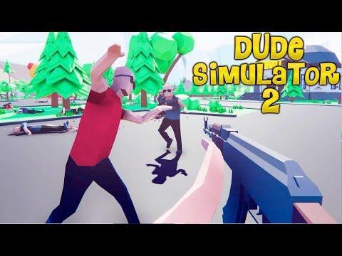 НОВЫЙ СИМУЛЯТОР КРУТОГО ЧУВАКА 2! - Dude Simulator 2