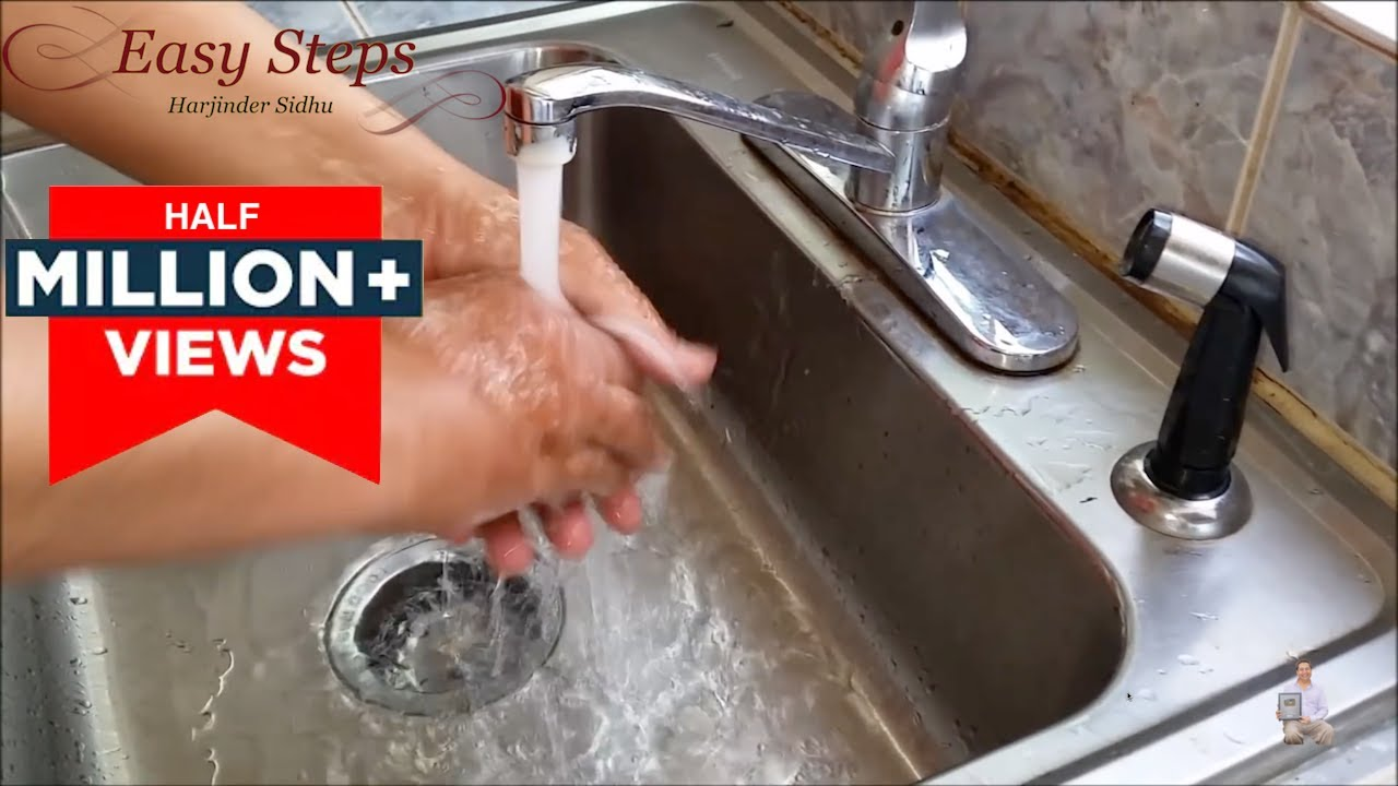 Solved How To Fix Low Water Pressure In Kitchen Faucet Youtube