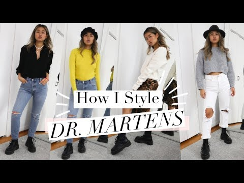 How to Style Dr. Martens Boots | Affordable Fall Outfit Ideas