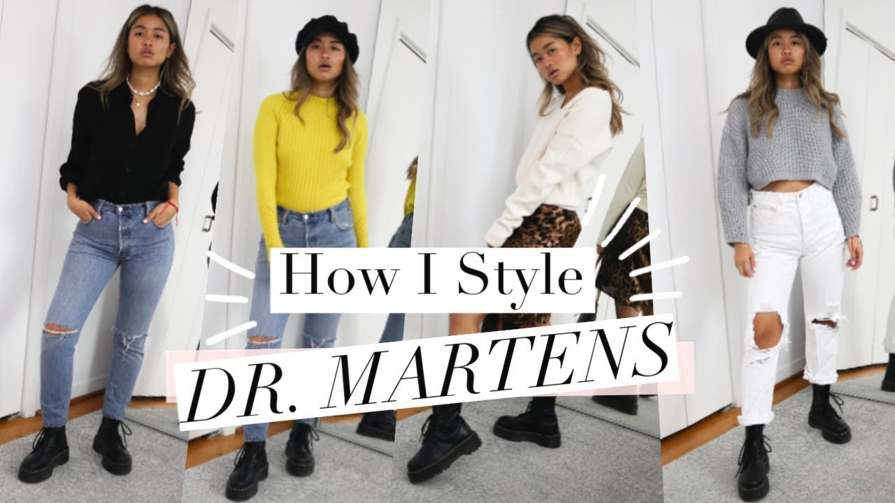 How to Style Dr. Martens Boots | Affordable Fall Outfit Ideas 2