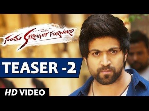 Santhu Straight Forward Songs | Santhu Straight Forward Video Teaser 2 | Yash, Radhika Pandit