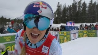 Lindsey Vonn - Back to Back WINS - Lake Louise Downhill