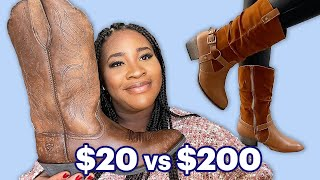 We Try Cheap Vs Expensive Boots