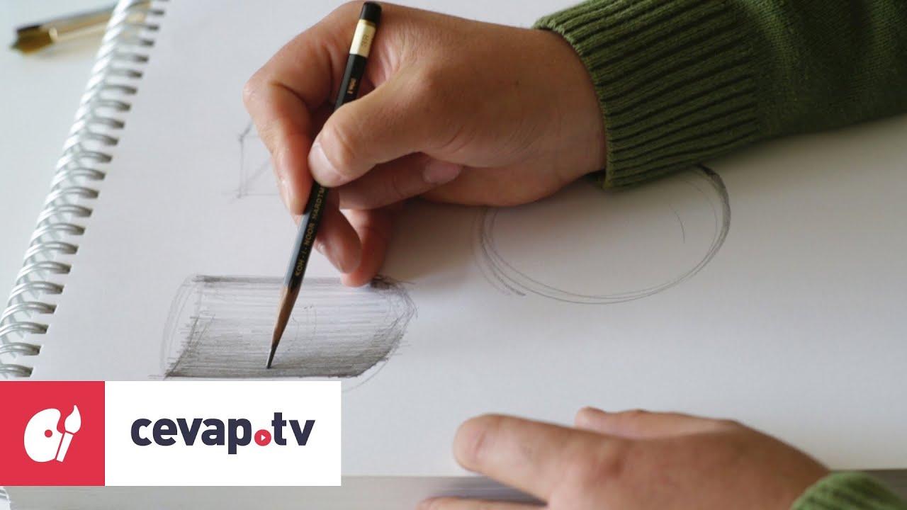 Kara Kalem çizimde Gölgelendirme Nasıl Yapılır Youtube