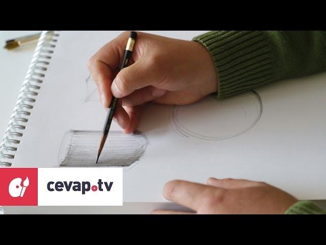 Kara kalem çizimde gölgelendirme nasıl yapılır?