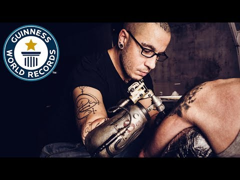 JC Sheitan: First prosthetic tattoo gun arm – Meet The Record Breakers Europe