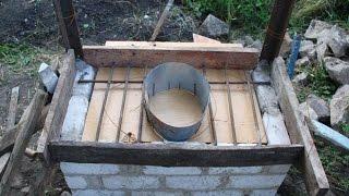 как сделать туалет на даче своими руками видео