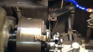 Lathe spindle brake project - testing caliper function