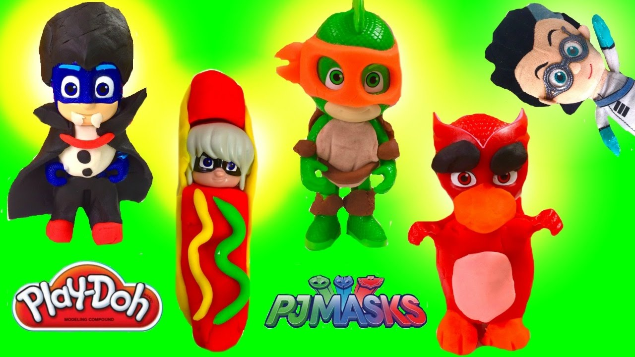 how to make easy pj masks disney jr diy play doh halloween costumes fizzy toy show youtube - Disney Jr Halloween Costumes