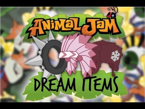 Top 10 Animal Jam Dream Items