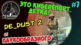 CS:GO (De_Dust 2) ДАСТ 2 | ЭТО КИБЕРСПОРТ, ДЕТКА! | ОТ ПАУКООБРАЗНОГО | #7