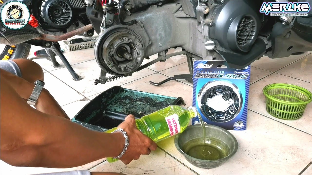 Download BRAKE SHOE REPLACEMENT ON MIO SOUL I 125