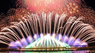 【4K】2015 桑名水郷花火大会 NTN超特大仕掛 第1部~第3部通しバージョン thumbnail