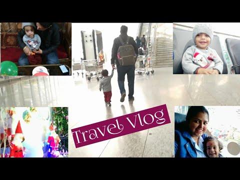 Christmas 2018 || My Husband's Birthday || Ranchi 🛫Kolkata🛬Nagpur || Travel Vlog || MUMMAWAY VLOGS