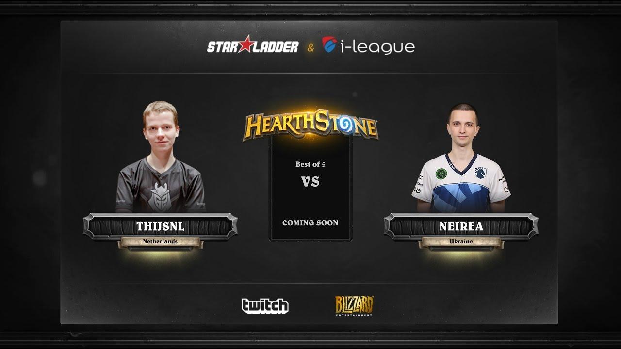 [RU] ThijsNL vs Neirea | SL i-League Hearthstone StarSeries Season 3 (12.05.2017)