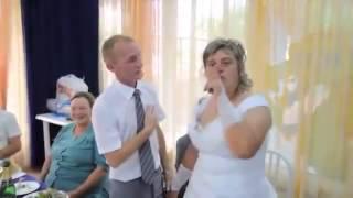 Смешной прикол  Свадьба. невеста толстая и некрасивая