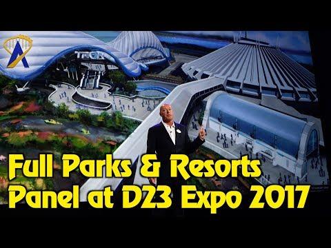 Full Disney Parks & Resorts Presentation at D23 Expo 2017