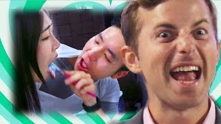 Couples Try The Conjoined Twin Challenge • Love Goals Ep. 2