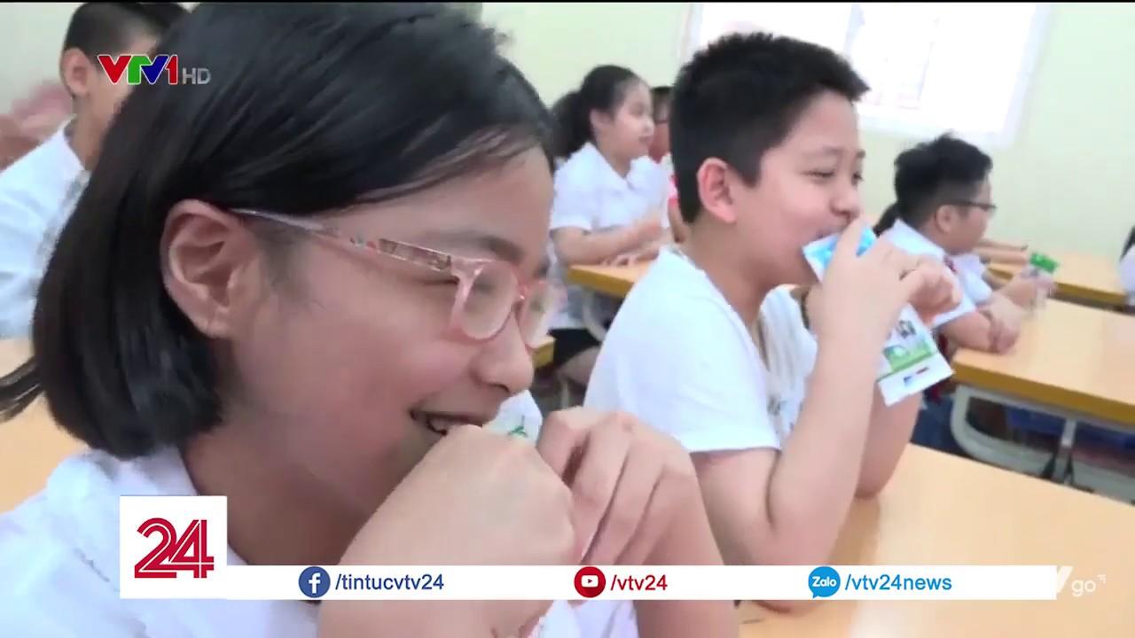Chưa phát hiện vi phạm về chất lượng sữa học đường | VTV24