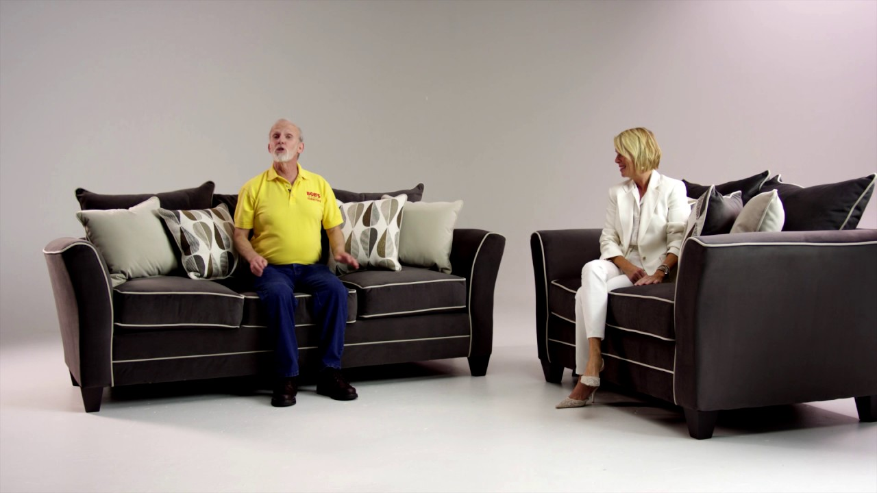 Piper Sofa And Loveseat Set Bob 39 S Discount Furniture Youtube