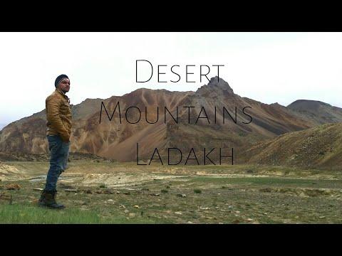 High altitude Deserts mountains in ladakh.